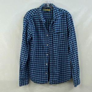 Prince & Fox Cotton Flannel Shirt - L